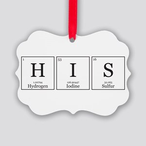 HIS and HErS [Chemical Elements] Picture Ornament